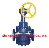 Luva-Tipo válvula da operação da turbina de plugue