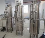 Impianto di imbottigliamento minerale di trattamento delle acque