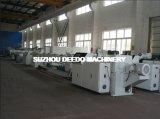 Tubulação dobro a rendimento elevado do PVC que faz a máquina