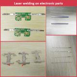 Machine de fibre de transmission optique de soudage au laser avec postes de travail à double tête