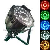 24X15W RGBW 5 In1 СИД PAR Stage Lighting Equipment