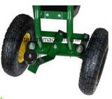 Carro da ferramenta de jardim das rodas do assento quatro do rolamento do jardim do fornecedor de China