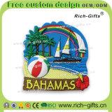 Aimants personnalisés de réfrigérateur de PVC de cadeaux de promotion comme souvenir Bahamas (RC-BS)