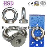 Steel304/316 inoxidável que levanta o parafuso de olho DIN580 com certificado