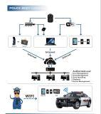 Cámara de red fuerte de la carrocería de la policía de la batería de Senken con la opción de WiFi
