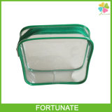 Tand UP wave CLEAR Vinyl Travelling Zipper luggage Bag