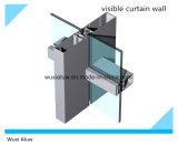 Mur rideau en verre en aluminium