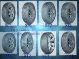 Neumático del vehículo de pasajeros de la polimerización en cadena del neumático de coche de Hilo de la fábrica del neumático