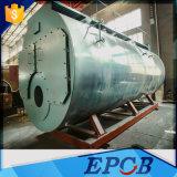 Eficiência elevada do vapor do petróleo da estrutura de três passagens caldeira de 3 toneladas