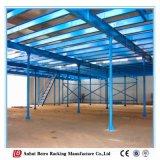 Construction en acier à haute densité de vente chaude de mémoire en acier d'entrepôt en métal avec le système d'aménagement de mezzanine