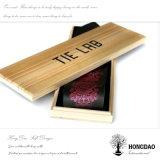 Diseño de madera del rectángulo de almacenaje del lazo de Hongdao
