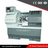 편평한 침대 고품질 GSK980 CNC 선반 (CK6132A)
