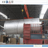 Spreco del pneumatico da 5 tonnellate che raffina alla pianta di olio combustibile
