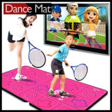 Tweeling Wireless Dance Mat met 32 bits voor TV en PC met 30 Games 80 Songs
