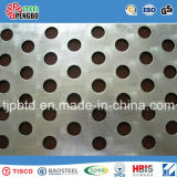 Strato dell'acciaio inossidabile del foro perforato per la decorazione con lo SGS di iso