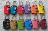 Key&Lock를 가진 아연 합금 Tsa 케이블 수화물 자물쇠