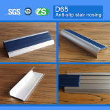 sospecha de aluminio de la escalera del metal de la protección de la seguridad de la anchura de 65m m