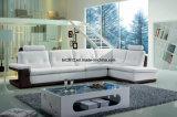 居間の本革のソファー(SBL-9048)