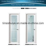 Puertas de aluminio del cuarto de baño de las puertas del marco de las puertas interiores