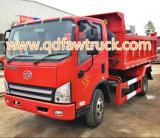 아주 새로운 FAW 5 톤 가벼운 기울이는 트럭