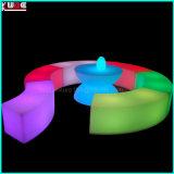 Напольная мебель с таблицей и стулом мебели СИД светлыми СИД
