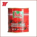 400g有機性缶詰にされたトマトのりの容易な開いた錫