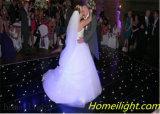 Ele a maioria de diodo emissor de luz Twinkling do assoalho do diodo emissor de luz do assoalho Starlit popular do diodo emissor de luz para Wedding a decoração/partido de /Stage 12FT*12FT
