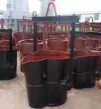 Уполовник чайника для отливки, изготовления уполовника плавильни, машины плавильни