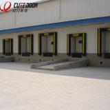 Промышленная нутряная вертикальная секционная дверь гаража