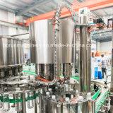 Uma planta de produção de enchimento engarrafada galão da água