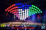 Openlucht voor van de Veelzijdige RGB LEIDENE van de Decoratie het Licht van de Bal omhoog-up-Down Lift