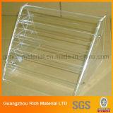Enregistrer le présentoir acrylique pour le produit de beauté, support acrylique d'étalage