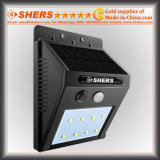 Senor solar Light del movimiento con 8 SMD LED, luz dévil (SH-2601)