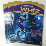 Книга в мягкой обложке размера A4 цветастая/Softcover книга образования