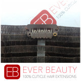 Clip dei capelli umani di Remy del brasiliano di Remy 100% nelle estensioni