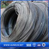 Alambre destemplado negro del calibrador de la fabricación 16 de China para el alambre obligatorio