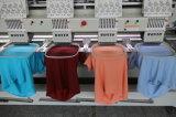 8 pistas con 9/12/15 máquina del bordado del casquillo/de la camisa de Cmputerized de las agujas
