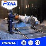 Quarto desinfetado automático abrasivo da explosão da areia do ar Q26 com sistema da recuperação/alta qualidade de China exportados para o quarto padrão do sopro de areia de Americas das carcaças