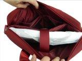 Saco vermelho macio do portátil do mensageiro com projeto moderno e alta qualidade