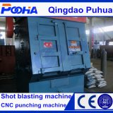 Máquina del chorreo con granalla del arenador del tiro de la correa eslabonada Q3210