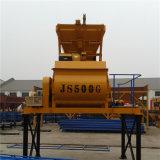 Mezclador concreto Js500 con el eje gemelo hecho en China (JS500)