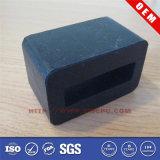 Бампер стыковки высоты черноты 88mm отлитый в форму резиной для обеспеченности