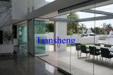 Het Glas die van Frameless Deuren, Frameless Binnenlandse Deuren, de Deuren van het Glas vouwen