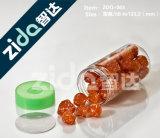 Vaso di plastica trasparente aperto facile con il coperchio per alimento