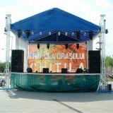 Напольный алюминиевый дешевый портативный шатер ферменной конструкции торговой выставки выставки этапа подиума DJ оборудования этапа