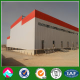 Structure métallique préfabriquée pour la construction de brique/usine/bride de fixation en Algérie