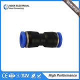 Connecteur rapide convenable pneumatique d'ajustage de précision de tube de série de PC de qualité
