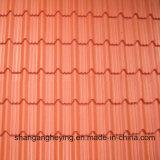 Feuille en aluminium ondulée du Gi Steel/PPGI de toiture/tuile d'onde