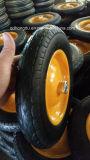All'ingrosso per la carriola una rotella di gomma solida da 14 pollici