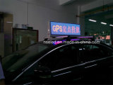 Afficheur LED extérieur de dessus de taxi de vente chaude imperméable à l'eau